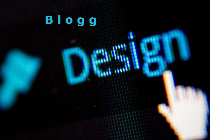 bloggdesign - börja blogga