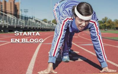 Tips när du startar en blogg